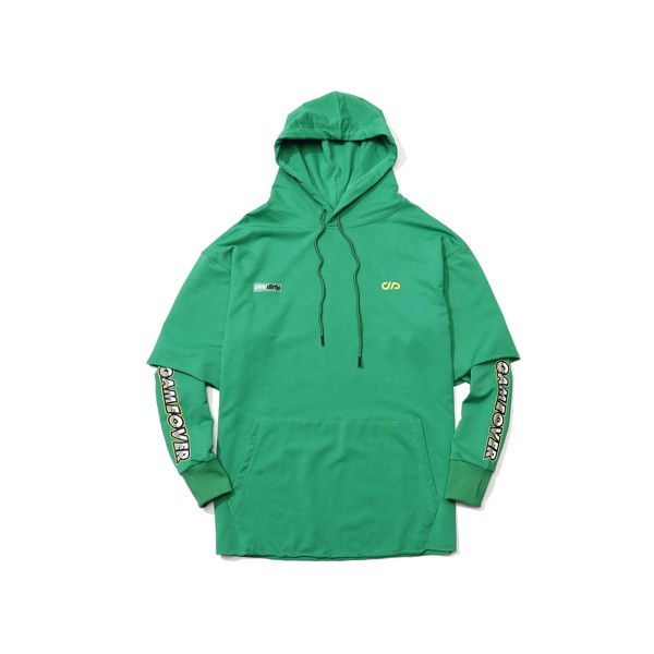 Gameover Double Layer Hoodie