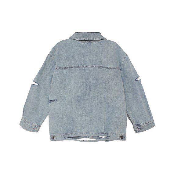 Destroyed Jeans Jacket