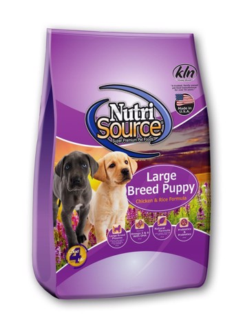 BDD376 Nutri Source Large Breed Puppy Chicken & Rice Formula 2.3kg
