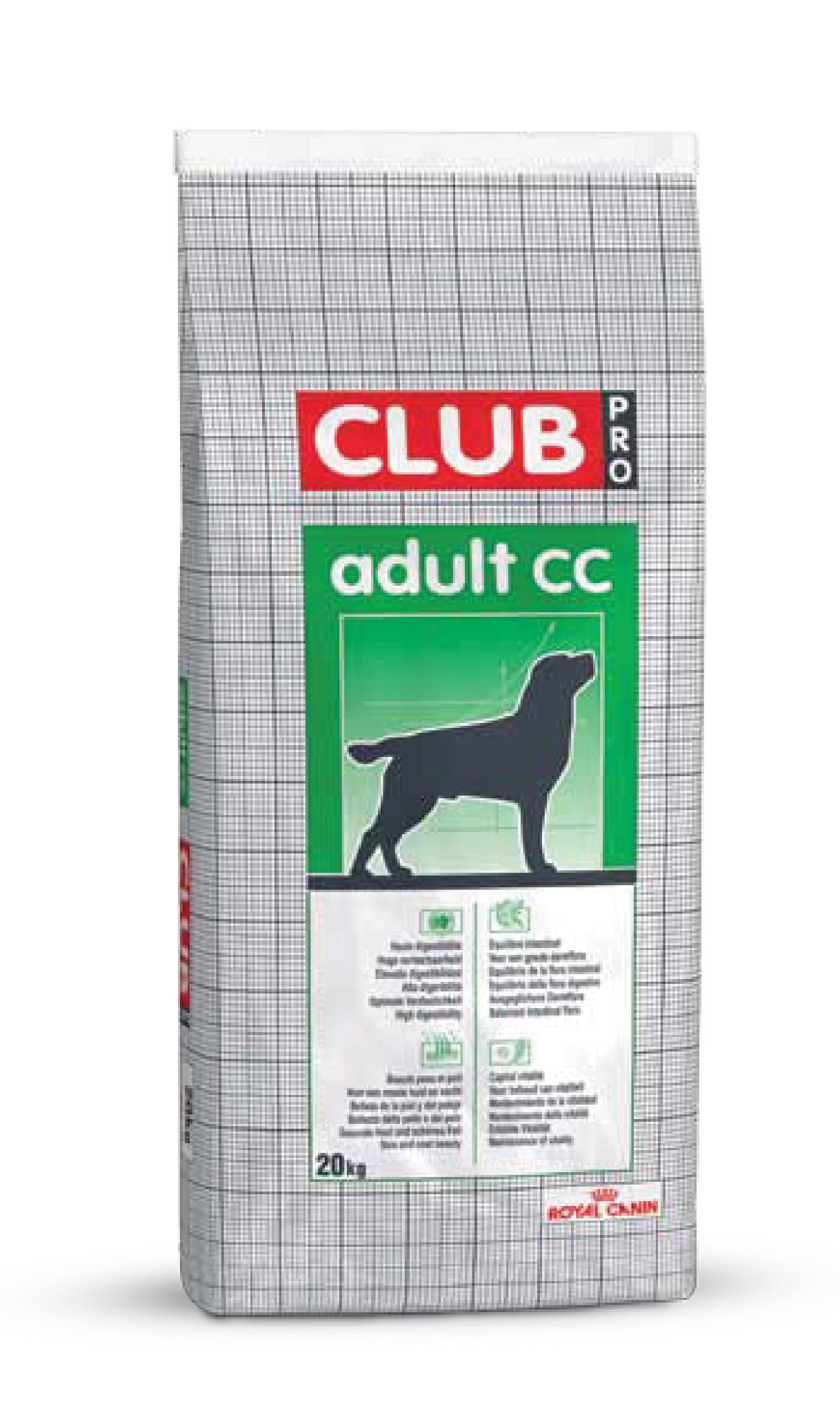 RC 348858 Club Pro Adult  20kg