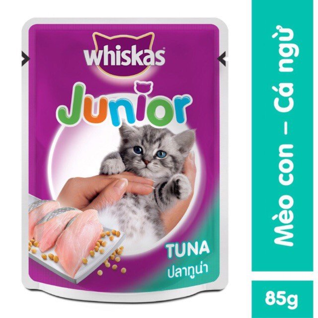 Soup Whiskas Junior 85gr