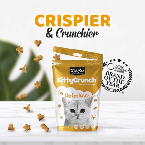 KitCat Kitty Crunch Chicken Flavor 60gr