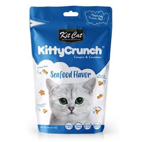 KitCat Kitty Crunch Seafood Flavor 80gr