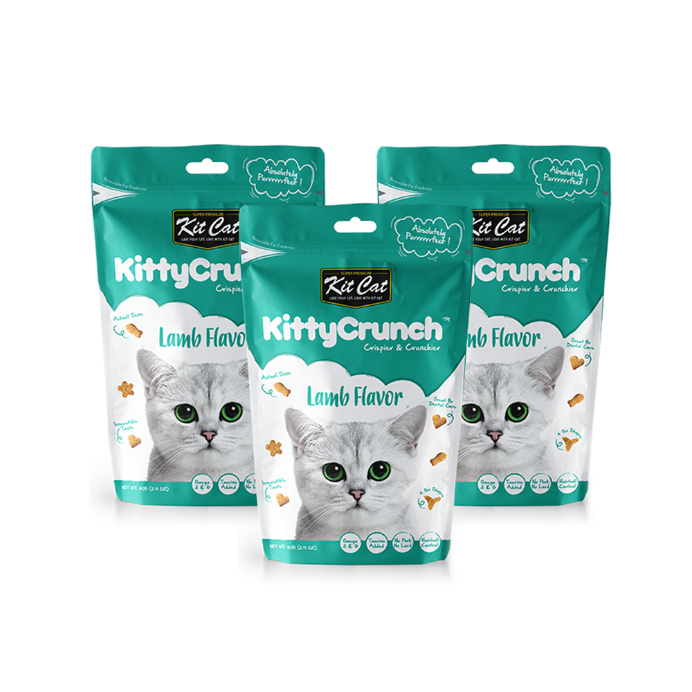 KitCat Kitty Crunch Lamb Flavor 80gr