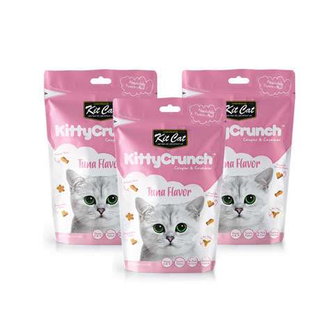 KitCat Kitty Crunch Tuna Flavor 80gr