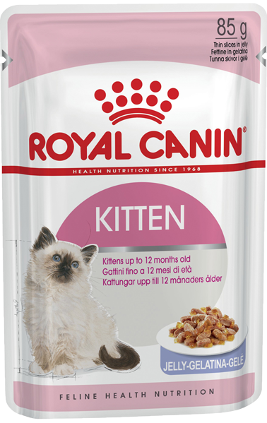 Soup Royal Canin Kitten Jelly 85gr
