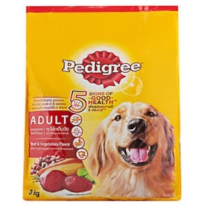 Pedigree Adult Beef & Vegetables 3kg