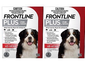 Frontline Plus For Dogs 40 - 60kg