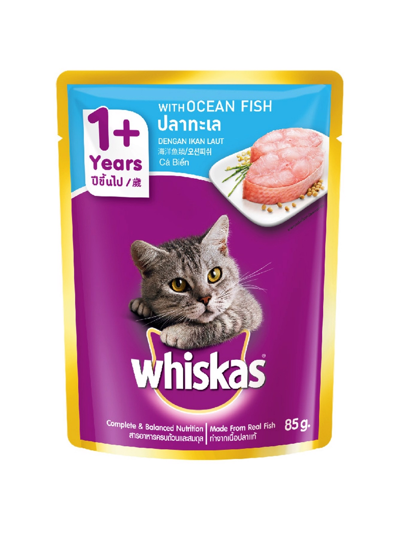 Soup Whiskas Ocean fish 85gr