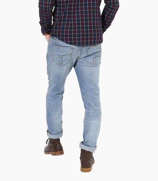 Quần jean skinny xanh trơn