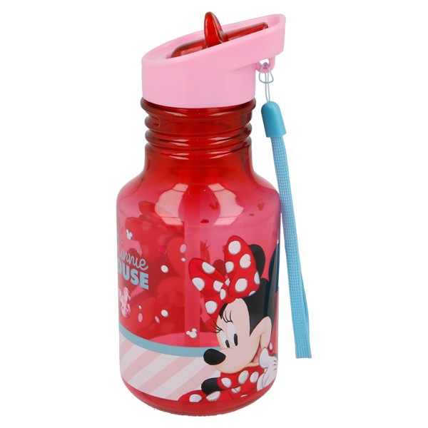 Bình nước LIGHT BULB TRITAN MINNIE ELECTRIC DOLL  370ML