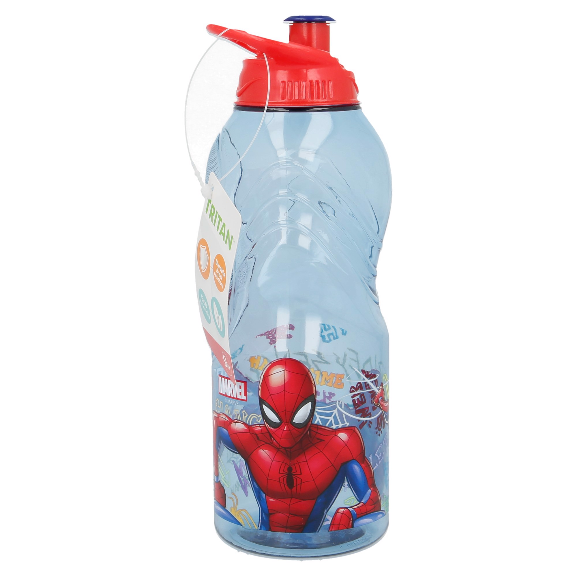 Bình nước WAVE TRITAN SPIDERMAN GRAFFITI 400ML