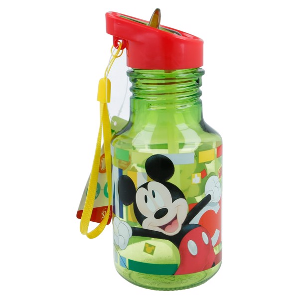 Bình nước LIGHT BULB TRITAN MICKEY WATERCOLORS  370ML