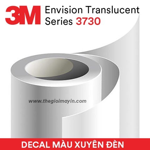 Decal 3M Series 3730 Envision Translucent Film