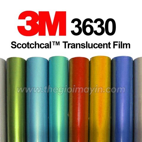 Decal 3M Series 3630 Scotchcal Translucent Graphic Film