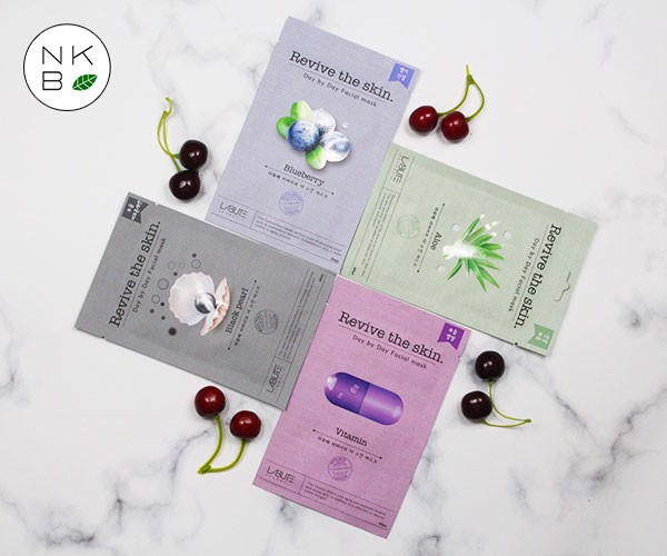 LABUTE REVIVE THE SKIN VITAMIN MASK - Mặt Nạ Vitamin