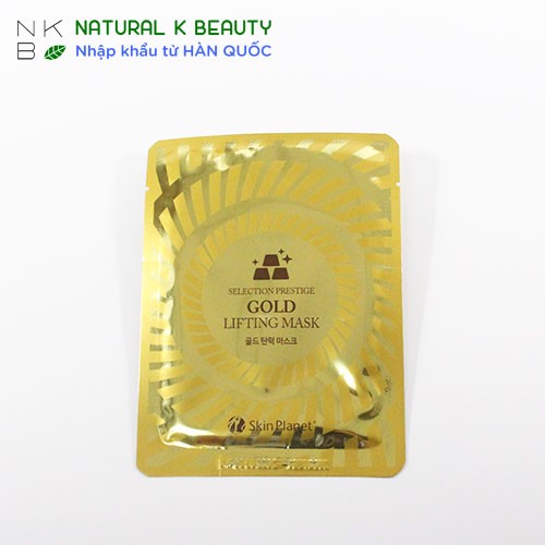 SELECTION PRESTIGE GOLD LIFTING MASK - Mặt nạ vàng