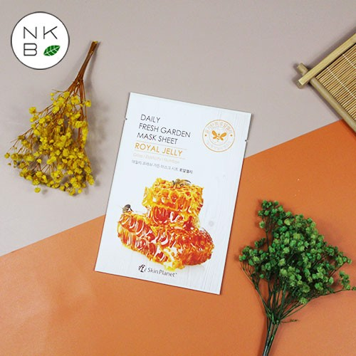 SKIN PLANET DAILY FRESH GARDEN ROYAL JELLY MASK - Mặt Nạ Sữa Ong Chúa