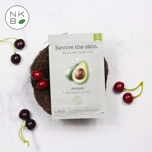 LABUTE REVIVE THE SKIN AVOCADO MASK - Mặt nạ trái bơ