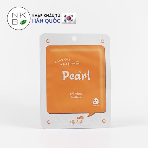 MJACRE ON PEARL MASK - Mặt nạ Ngọc trai
