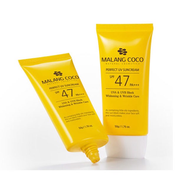 MALANGCOCO PERFECT SUNCREAM SPF 47 PA +++ - Kem chống nắng SPF 47 PA +++