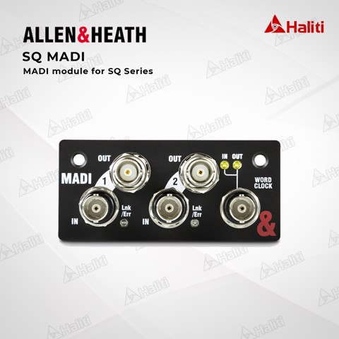 Allen & Heath MADI cho SQ
