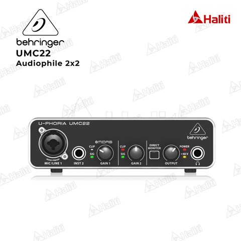 Audio Interface BEHRINGER UMC22