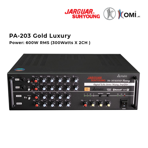 Âm ly Jarguar Suhyoung Komi PA- 203 Gold Luxury