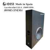 Loa siêu trầm IDEA C121-S  - Home Cinema