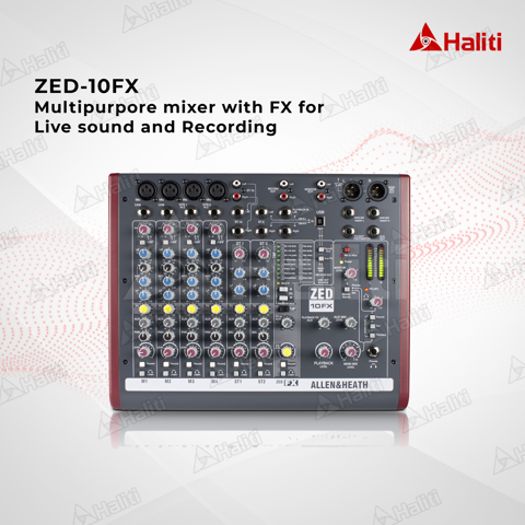 Mixer Allen & Heath ZED-10FX