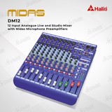 Mixer Analog Midas DM12