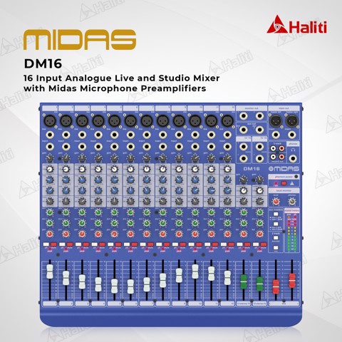 Mixer Analog Midas DM16