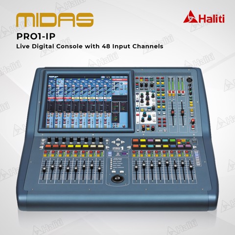 Mixer Digital Midas PRO1-IP