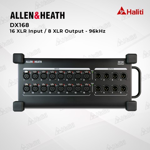 Stagebox Allen & Heath DX168