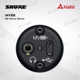 BỘ MICRO SHURE MV88+ VIDEO KIT