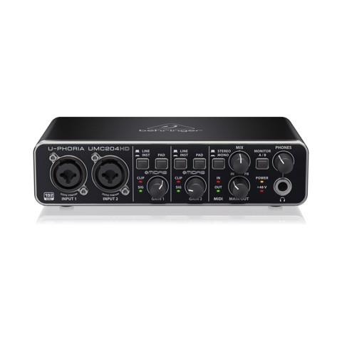 Audio Interface BEHRINGER UMC204HD