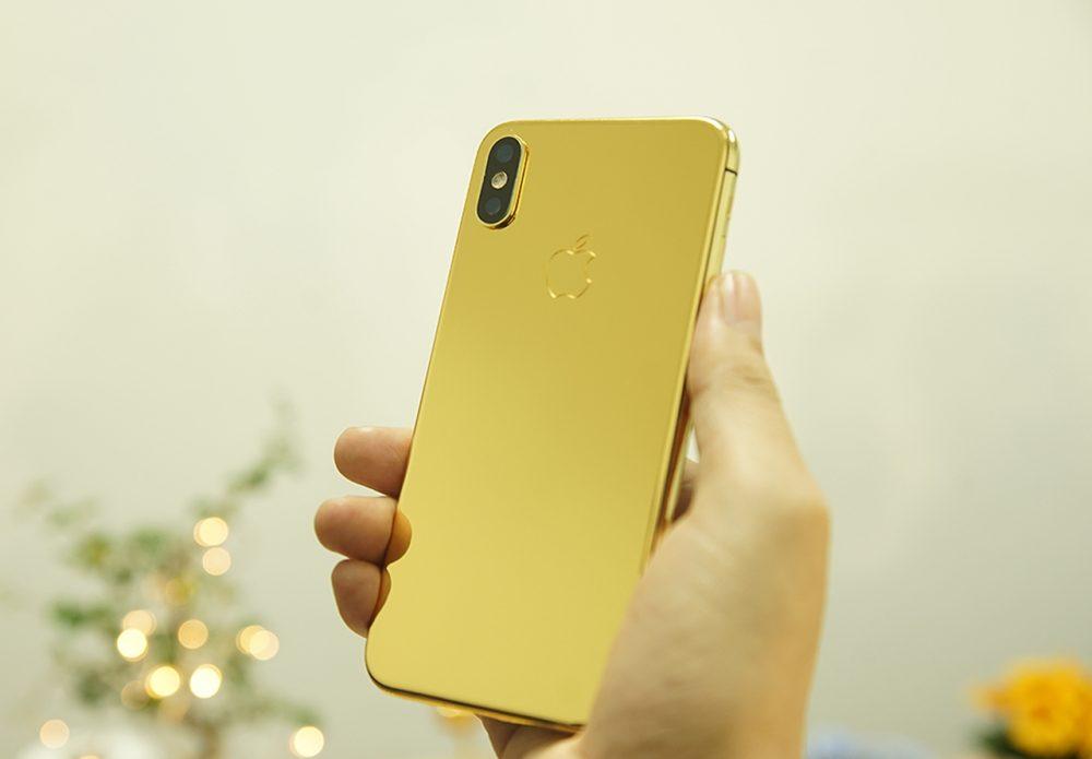 iPhone X mạ vàng 24K tại Hà Nội, Tp HCM, Việt Nam