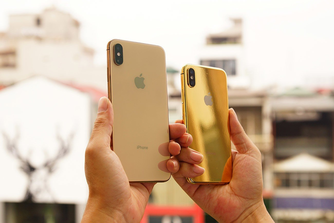 Golden Gift Việt Nam introduce 24K gold-plated iPhone XS