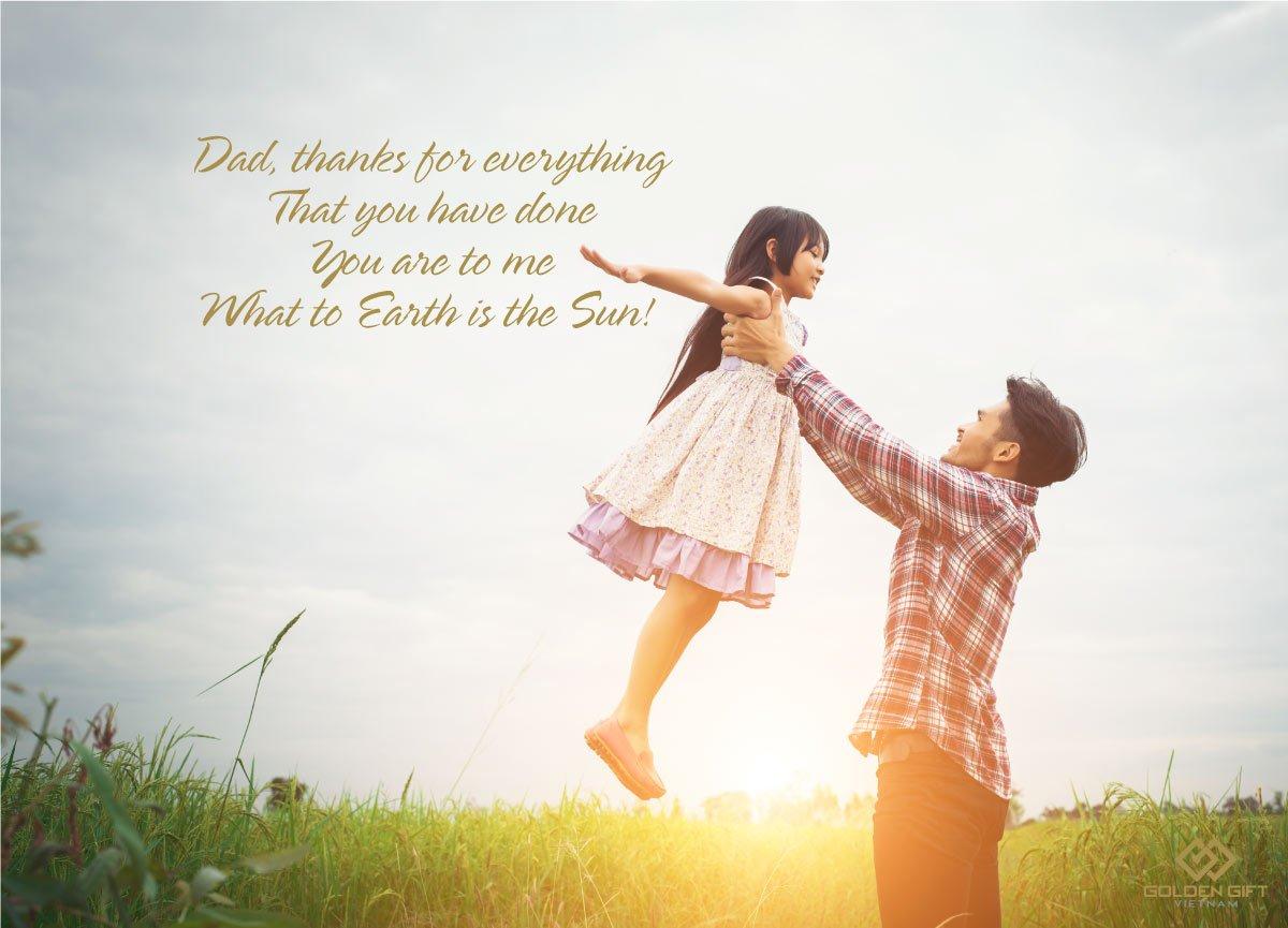 Tổng hợp Lời chúc ✅ câu nói, danh ngôn hay, cảm động nhất ✅ tặng cho Bố, Ba nhân dip Ngày của Cha ✅ năm nay 16/6/2019 bằng tiếng Anh ✅