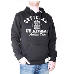 Áo Hoodie US Marshall Official Athletic - Black