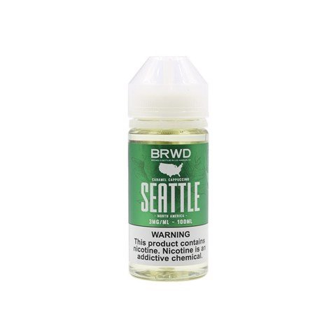 Caramel Cappuccino Seattle North America by BRWD (100ml) (Cappuccino Caramel)