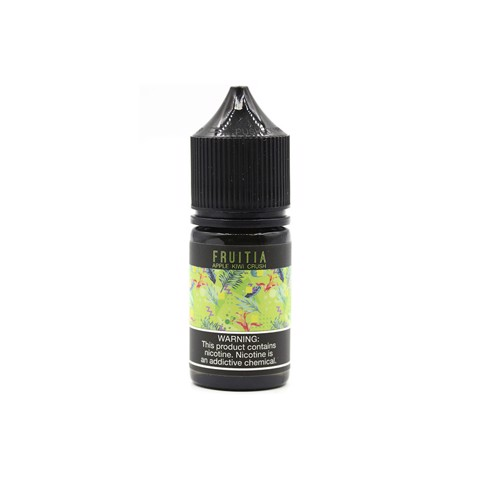 Apple Kiwi Crush Salt Nic by Fruitia (30ml)(Táo kiwi)