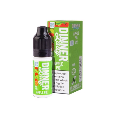 Apple Pie (50:50) by Dinner lady (10 ml) (Bánh táo)