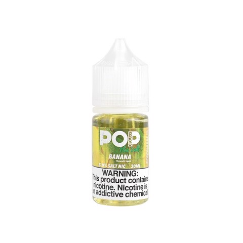 Banana Salt Nic by PoP Clouds (30ml)(Kẹo chuối)