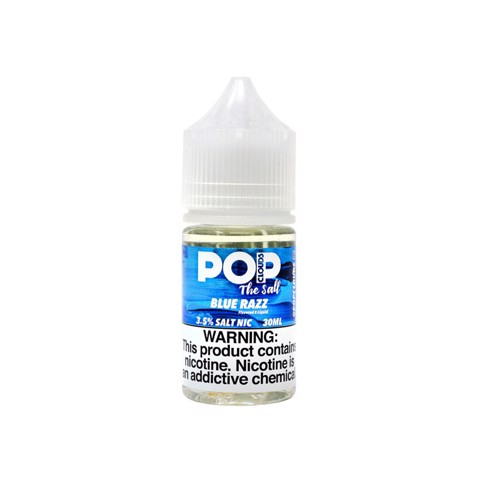 Blue Razz The Salt Nic by PoP Clouds (30ml)(Kem mâm xôi xanh)