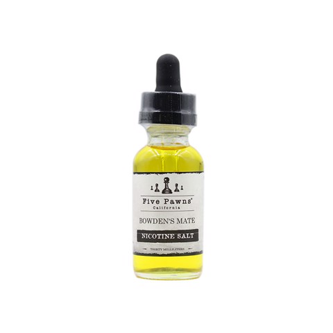 Bowden's Mate Salt Nic by Five Pawns (30ml) (Chocolate bạc hà)