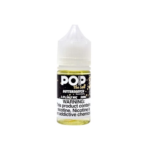 Butterscotch Salt Nic by PoP Clouds (30ml)(Kẹo bơ đường)