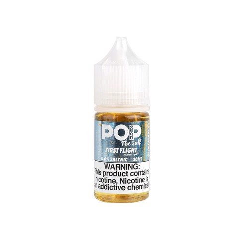 First Flight Salt Nic by Pop Clouds (30ml)(Lựu cam đào)