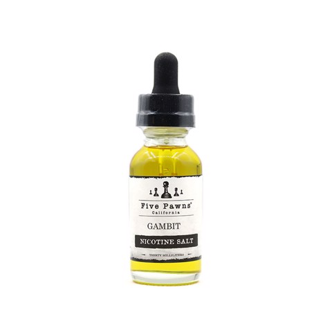 Gambit Salt Nic by Five Pawns (30ml) (Bánh táo kem vani)