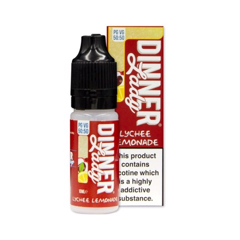 Lychee Lemonade (50:50) by Dinner Lady (10ml) (Nước chanh vải)